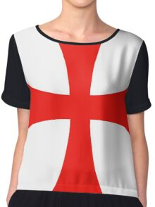Templar cross Chiffon Top