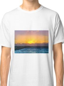 Fremantle Inner Harbour Sunset  Classic T-Shirt