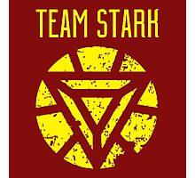 team stark t shirt Photographic Print