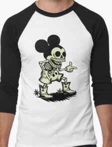 Skull mouse Men's Baseball ¾ T-Shirt