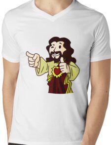 Body of Christ Mens V-Neck T-Shirt