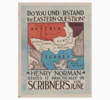 Artist Posters Do you understand the Eastern Question Henry Norman states it practically in Scribner's for June H 0586 One Piece - Short Sleeve