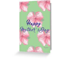 Happy Mothers Day- Floral Greeting Card