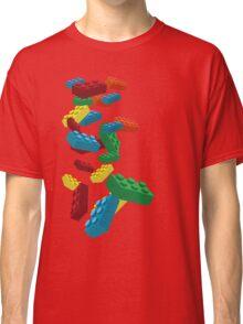 Falling Legos Classic T-Shirt