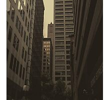 cityscape and lame mistakes Photographic Print