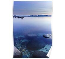 Tahoe Blur Poster