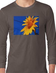 Vibrant Sunflower Long Sleeve T-Shirt