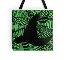 Elphaba Hat Wicked Zentangle Tote Bag