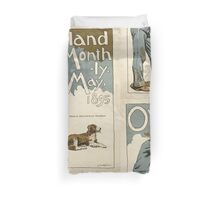 Artist Posters Overland Monthly May 1895 L Maynard Dixon 0295 Duvet Cover