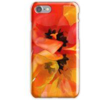 Tangerine Tulips iPhone Case/Skin