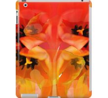 Tangerine Tulips iPad Case/Skin