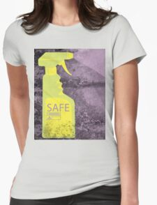 Safe Womens Fitted T-Shirt