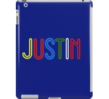 Justin - Your Personalised Products iPad Case/Skin