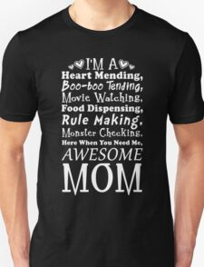 I'm an Awesome Mom Poem T-Shirt