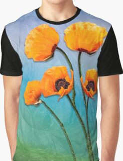 Oriental Poppies  Graphic T-Shirt