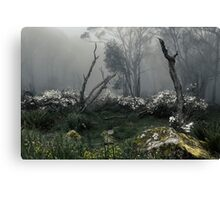 Fogscape Canvas Print
