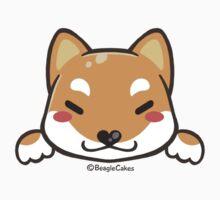 Cute Shiba Inu Puppy (Sesame) Kids Tee