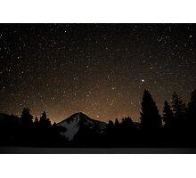 mountain night Photographic Print