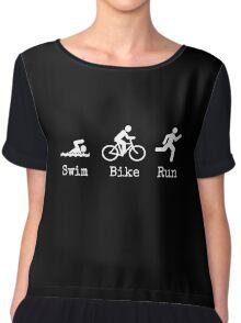Triathlon Chiffon Top