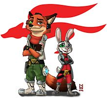 Best Pilots in Zootopia Photographic Print