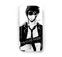 Psycho Pass Shinya Kogami black Samsung Galaxy Case/Skin