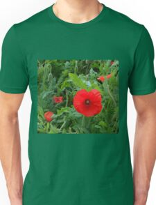 A Soldier's Life - Poppy Close-up Unisex T-Shirt