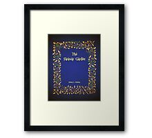 The Faraway Garden WIP title page Framed Print