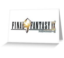Final Fantasy IX Greeting Card