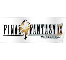 Final Fantasy IX Poster