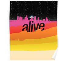 ALIVE scape Poster