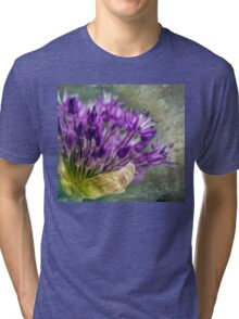 Allium Blossoms Tri-blend T-Shirt