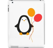 Penguin with balloons iPad Case/Skin