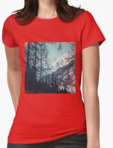 Please Come Back Womens Fitted T-Shirt