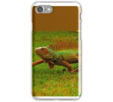 Puerto Rican Iguana iPhone Case/Skin