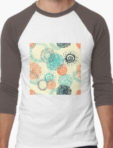 abstract seamless pattern Men's Baseball ¾ T-Shirt