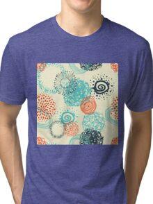 abstract seamless pattern Tri-blend T-Shirt