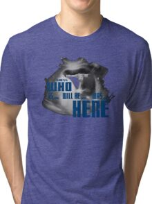 Guess WHO is.. will be... was... here!?! Tri-blend T-Shirt