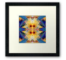 Bright Blossom Sunshine Framed Print