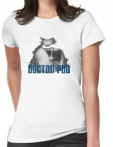 Doctor Poo Womens Fitted T-Shirt