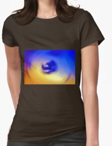Abstract Colors Womens Fitted T-Shirt