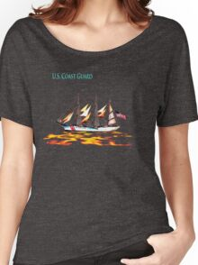 United States Coast Guard Women's Relaxed Fit T-Shirt