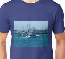 Enjoying a trip on Corio Bay - Geelong. Vic. Unisex T-Shirt
