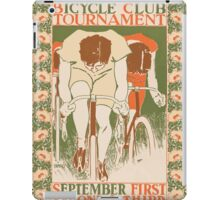 Artist Posters The Springfield bicycle club tournament September first second third 0474 iPad Case/Skin