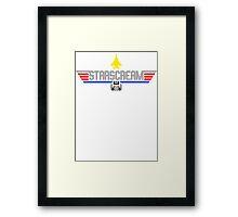 Top Starscream Framed Print