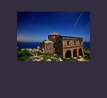 Startrails over Hagia Sophia - Monemvasia Unisex T-Shirt