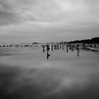 The Beach B&W by D-GaP
