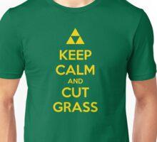 Keep Calm and Cut Grass Unisex T-Shirt