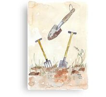 My Favourites (garden tools) Canvas Print