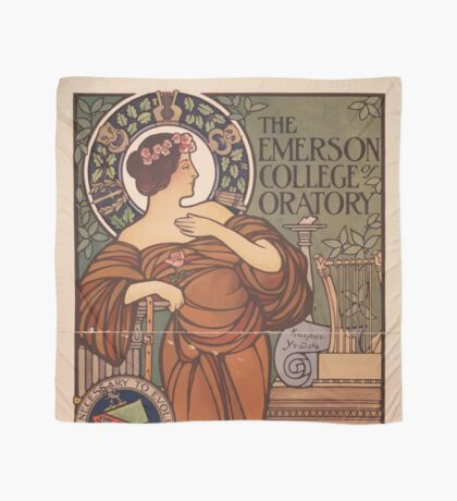 Artist Posters The Emerson College of Oratory 0593 Scarf