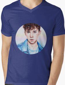 Troye Sivan for Rolling Stones Mens V-Neck T-Shirt